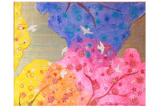 Miyuki TAKANASHI - Gemälde - Forest Telling Spring 2