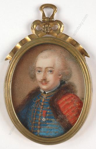 "André JUDLIN-KESSLER - 缩略图  - ""Officer of Hussar Regiment ""Colonel-General"""