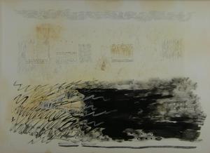 Fausto MELOTTI - Peinture - Seza titolo