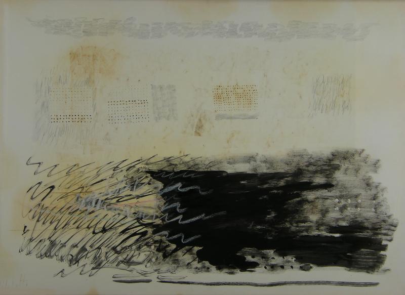 Fausto MELOTTI - Pintura - Seza titolo