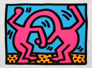 Keith HARING, Pop Shop II (4)