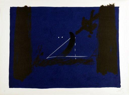 Antoni TAPIES - Druckgrafik-Multiple - Nocturn Matinal 240a