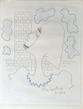 Jean COCTEAU - Print-Multiple - La Tour