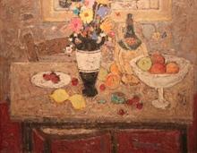 Marko STUPAR - Painting - Nature morte au bouquet