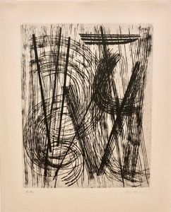 Hans HARTUNG - Print-Multiple - R15
