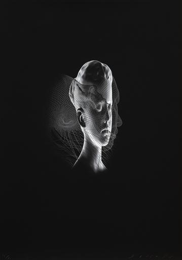 乔玛·帕兰萨 - 版画 - Aura I