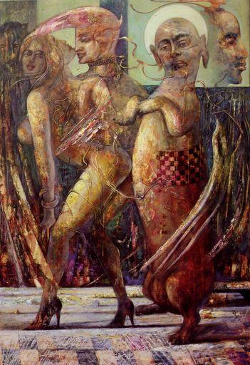 Hovik KOCHINIAN - Pittura - Dedicated To Artak