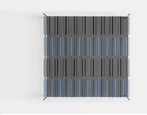 杰塞斯•拉斐尔•索托 - 雕塑 - Tés azules y negras (De la serie síntesis)