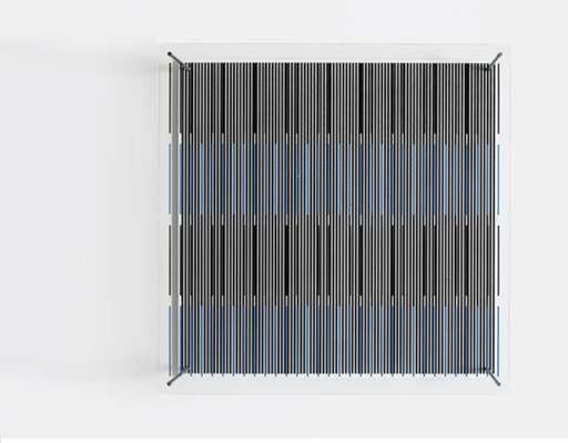 Jesús Rafael SOTO - Sculpture-Volume - Tés azules y negras (De la serie síntesis)