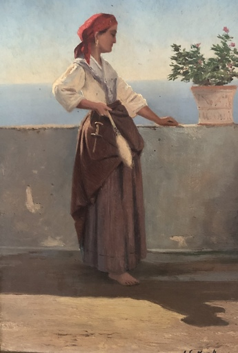 Ascan LUTTEROTH - Painting - Capri