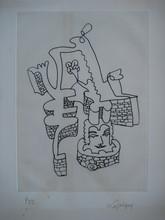 Jean Émile LABOUREUR - Print-Multiple - GRAVURE 1968 SIGNÉE CRAYON NUM/99 HANDSIGNED NUMB ETCHING