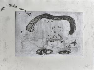 Antoni TAPIES - Grabado - Untitled