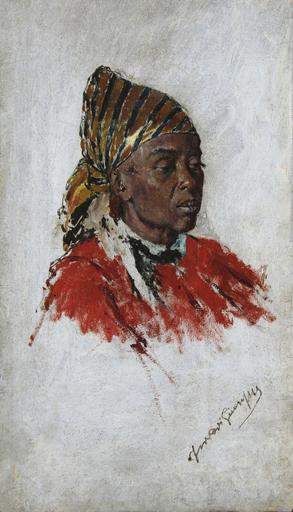 Giuseppe FERRARI - Peinture - Ritratto