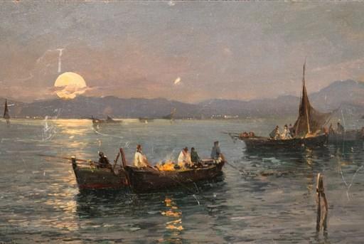 Attilio PRATELLA - Pintura - Marina