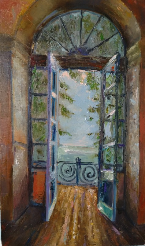 Ohanyan KAMSAR - Pittura - Open Balcony