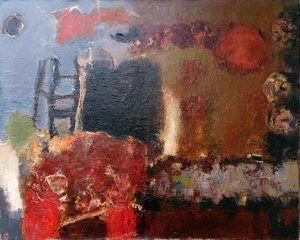 Levan URUSHADZE - Painting - Composition # 89
