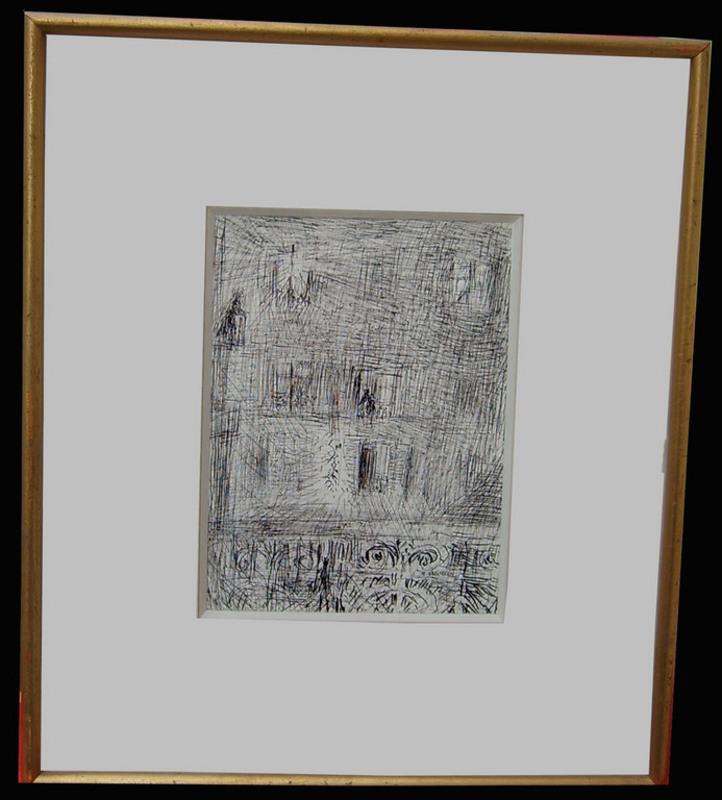 Hélène NEVEUR - Drawing-Watercolor - Les Fenêtres