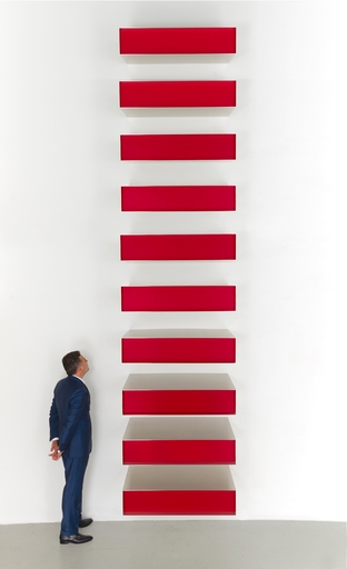 Donald JUDD - Sculpture-Volume - Untitled - On loan