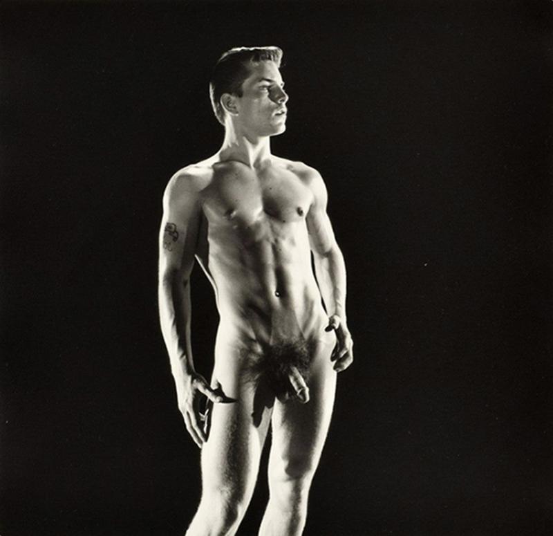 BRUCE OF LOS ANGELES - Photography - LARGE NUDE JOE DALLESANDRO PHOTO, BRUCE BELLAS ESTATE