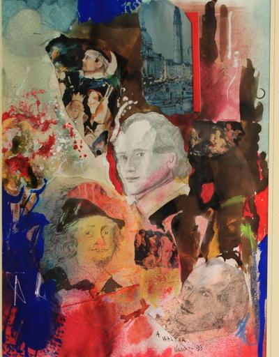 Enrico VISANI - Pintura - Hommage à Jacob Jordaens - Omaggio a Jordaens