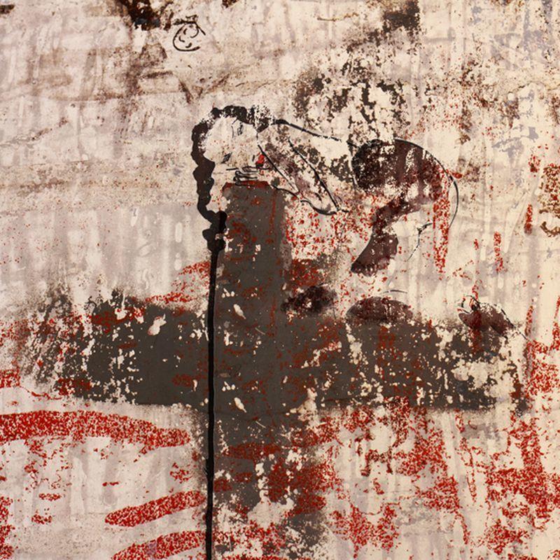 Aurélie LAFOURCADE - Peinture - Nu sur croix