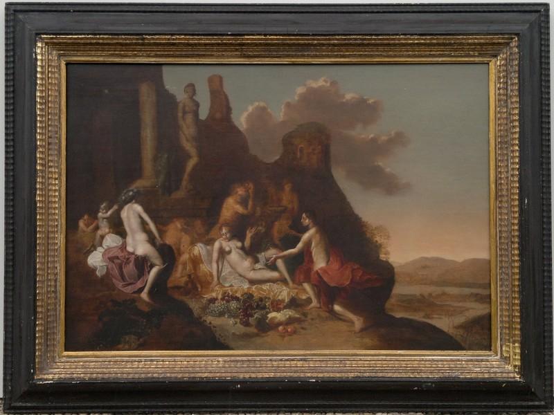 Cornelis VAN POELENBURGH - 绘画 - Allegorische Szene