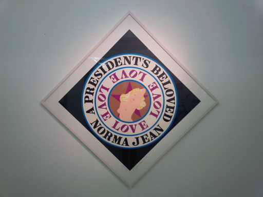 Robert INDIANA - Grabado - President's Beloved Norma Jean