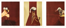 Francis BACON - Estampe-Multiple - Second Version of the Triptych, 1944