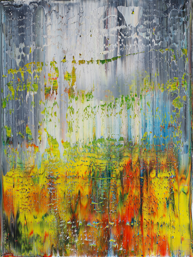 Harry James MOODY - Peinture - White and Colours No. 531