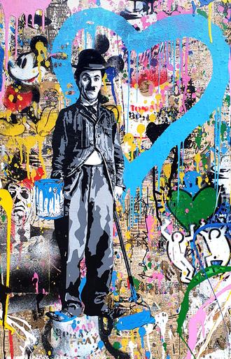 MR BRAINWASH - Pintura - Life is Beautiful