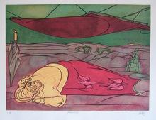 Valerio ADAMI - Print-Multiple - LITHOGRAPHIE SIGNÉE AU CRAYON NUM/100 HANSIGNED LITHOGRAPH