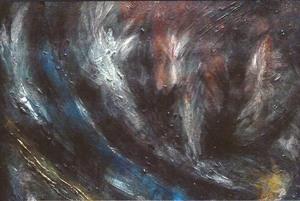 Didier ANGELS - Peinture - Le soupir du poète