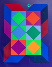Victor VASARELY - Stampa Multiplo - XICO VY 29 G