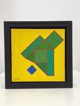 "Achille PERILLI - Painting - ""Kaka"""
