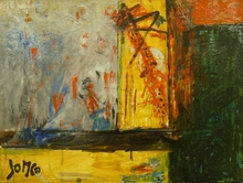 Marcel JANCO - Painting - Landscape