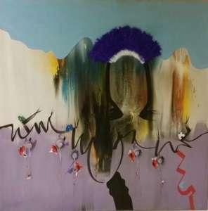 Sergio DANGELO - Gemälde - Valle delle orchidee