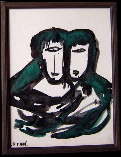 Yona LOTAN - Pintura - Visages