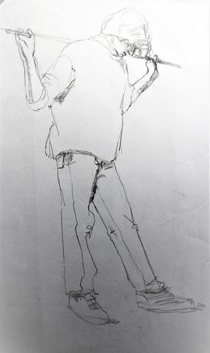 R.CAVALIÉ - Dibujo Acuarela - N.R. 145