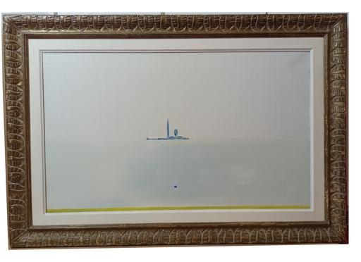 Virgilio GUIDI - Gemälde - MARINA DI SAN GIORGIO