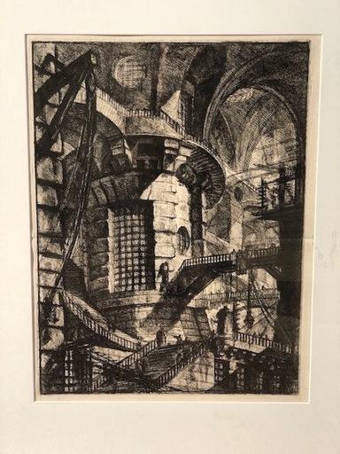 Giovanni Battista PIRANESI - Estampe-Multiple - La Torre redonda