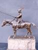 Spiro SCHWATENBERG - Escultura - Chevalier du XVe Siècle