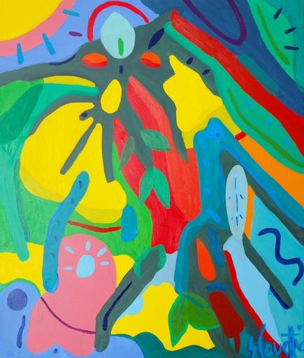 Sébastien COUEFFIC - Painting - folium arboris 1