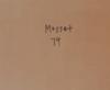 Olivier MOSSET - Pittura - sans titre