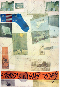 Robert RAUSCHENBERG, ARTISTS RIGHTS TODAY