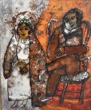 Théo TOBIASSE (1927-2012) - L'homme et la jeune fille
