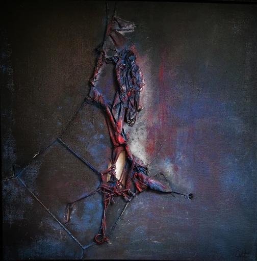 Elodie DOLLAT - Painting - Khostangel III