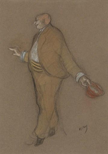 Henri Gabriel IBELS - Drawing-Watercolor - Libert à la Scala