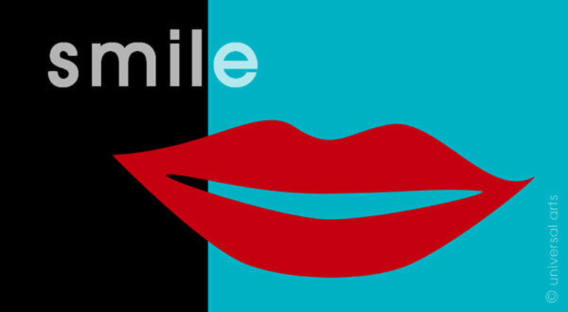 Mario STRACK - Estampe-Multiple - How They Look 2 (Smile)