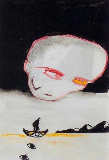 Enzo CUCCHI - Peinture - Simm nervusi