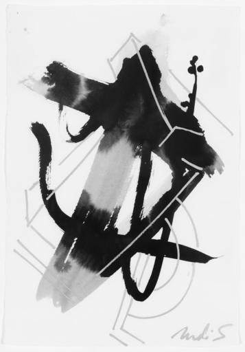 DI SUVERO Mark - Disegno Acquarello - Untitled